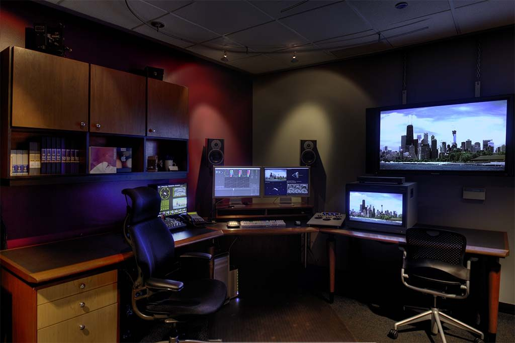 video editing suite