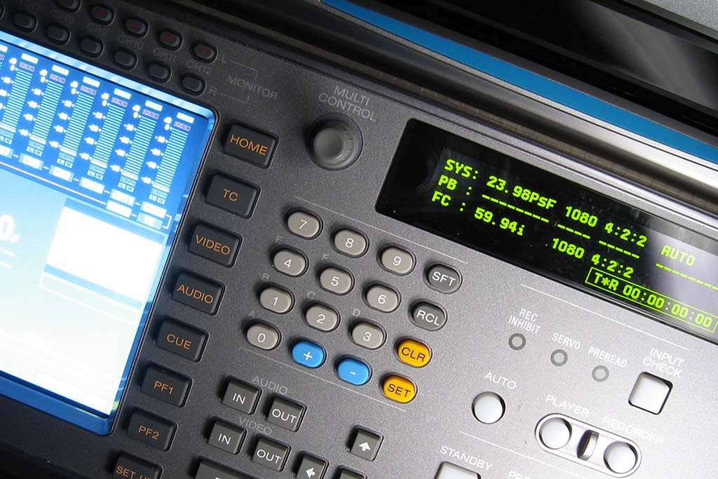videotape capturing & mastering